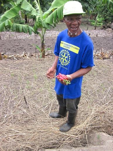 Här har vi förra årets Farmer of the year!